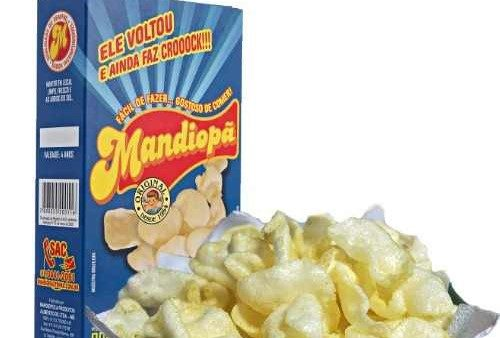 Mandiopã genérico, RENDIMENTO 400 g de mandiopan (sem fritar)